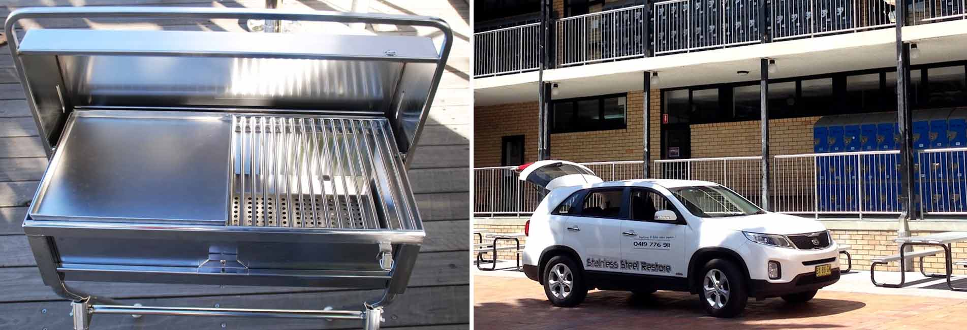 Stainless Steel Scratches Northern Beaches, Stainless Steel Cleaning Gosford, Stainless Steel Polishing Terrigal